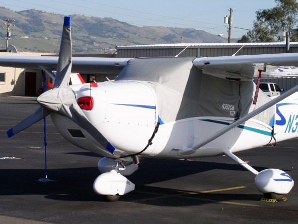 Cessna 182 Canopy Cover, Prop Cover & Engine Inlet Plugs: