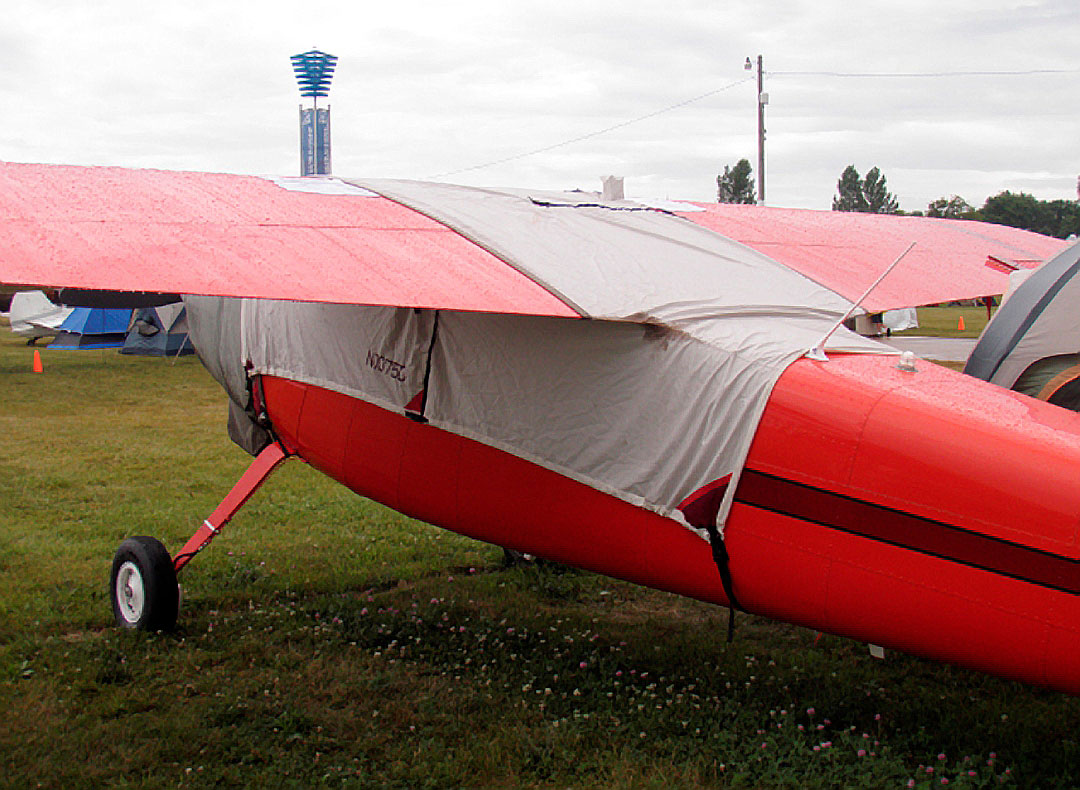 Over-Top Canopy Cover & Engine Cover