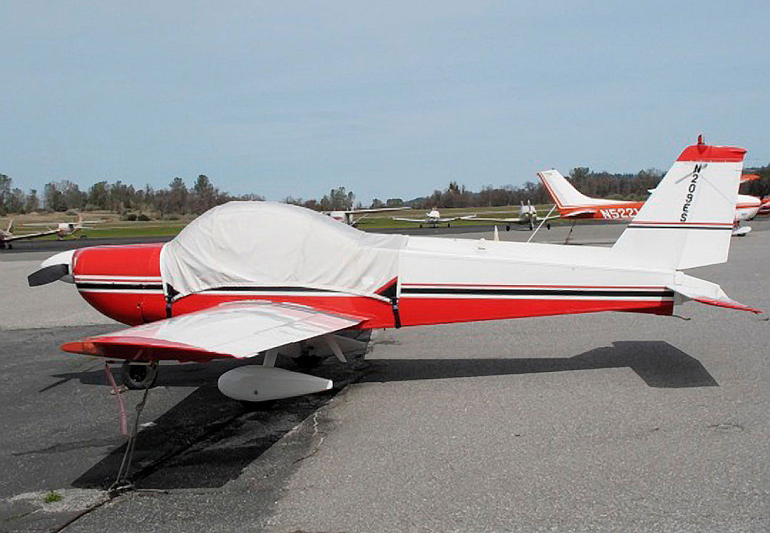 Messerschmitt BO-209 Monsun Canopy Cover