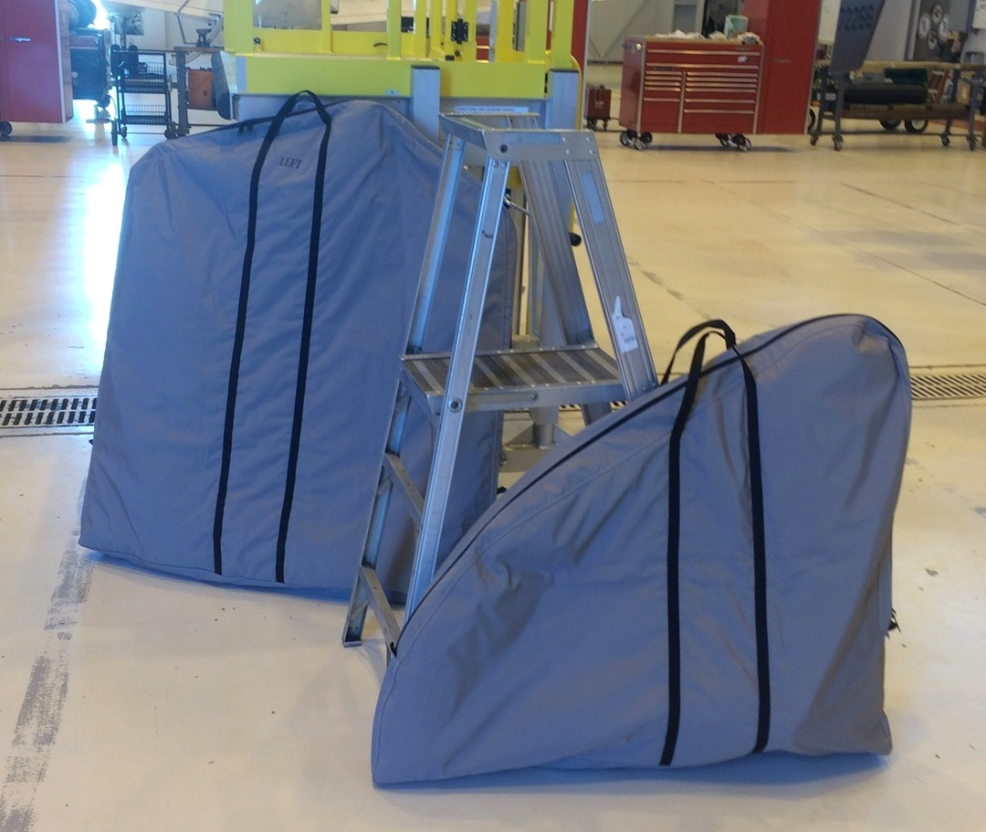 Eurocopter EC-145 Padded Bags for Removable Doors