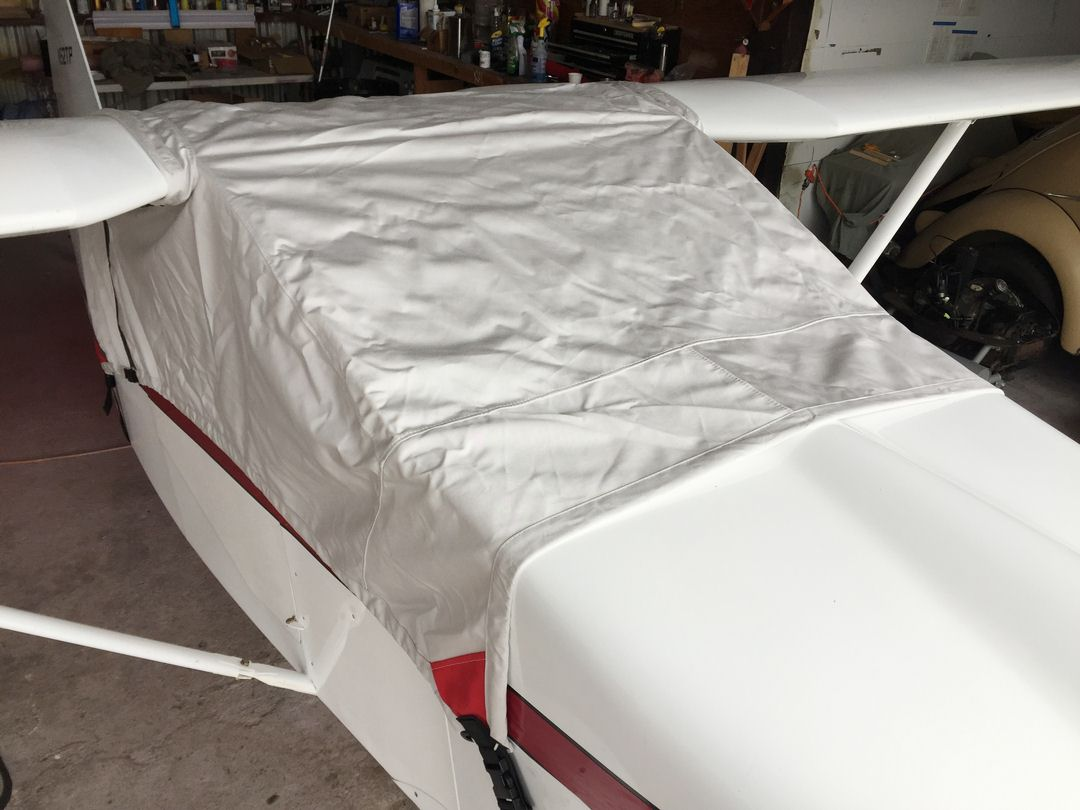 Wittman Tailwind Canopy Cover, Over-The-Top