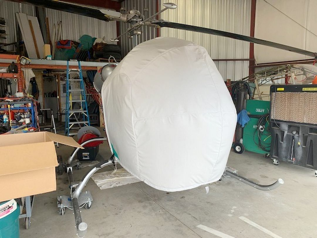 Bell 47 Bubble Cover, Narrow Cabin