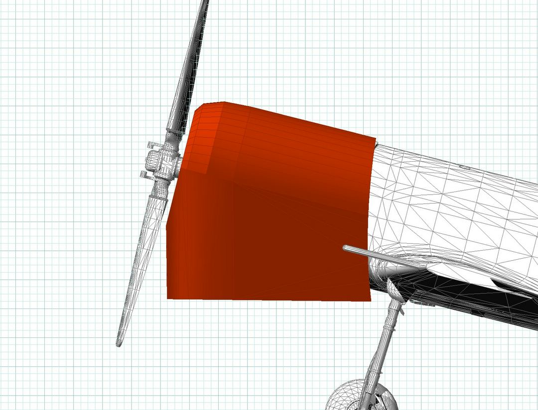 Yak 50 Insulated Hangar Blanket. 3D model