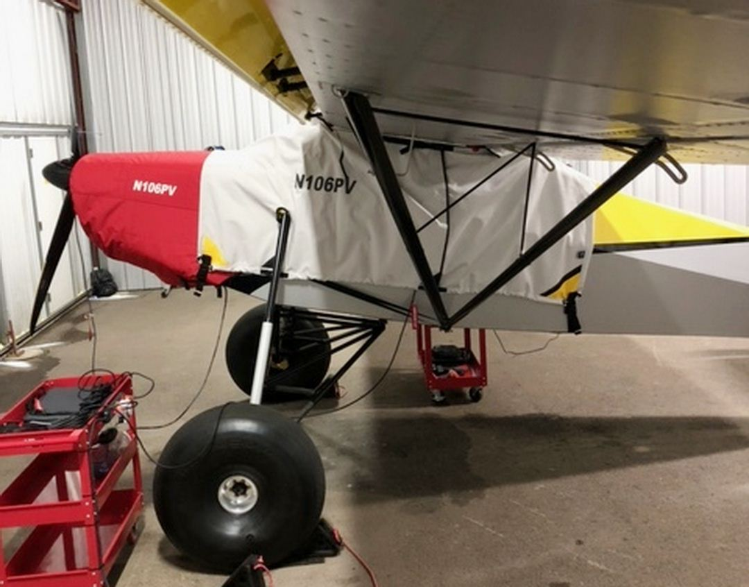 JA30 Superstol  Over The Top Style Canopy Cover, Insulated Engine Cover