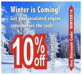 Insulated Engine Covers - Special